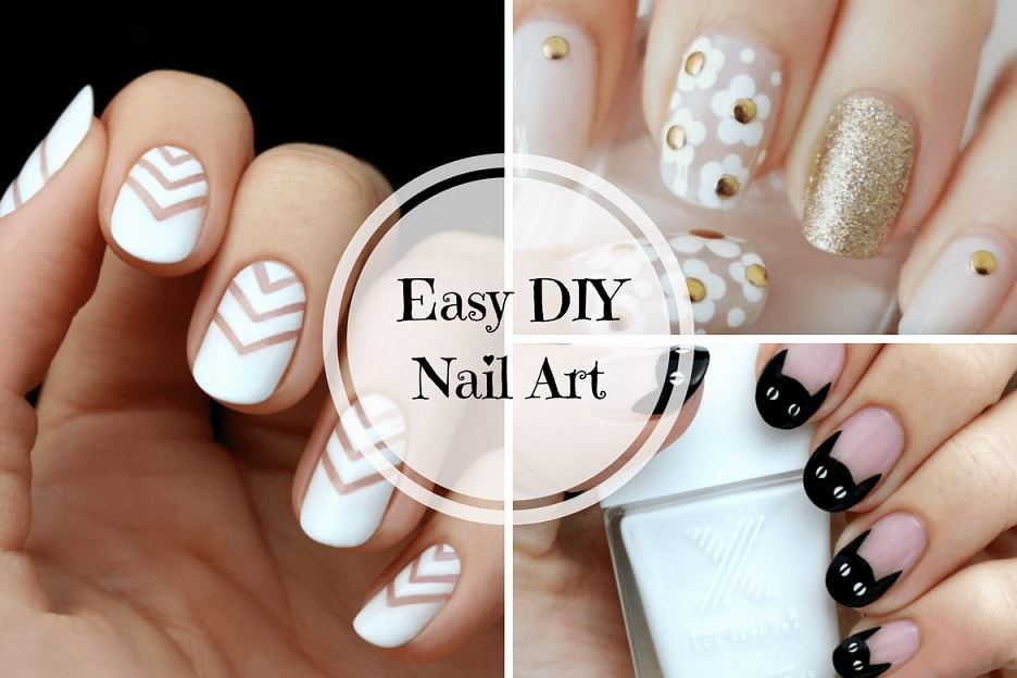 - 10 Cute And Easy DIY Nail Art Ideas