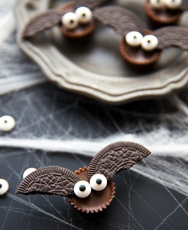 Mini Bat Halloween Treats