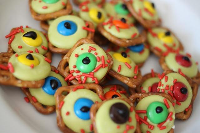 Zombie Eye Balls for Halloween