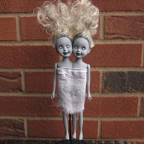 Zombie Dolls for Halloween