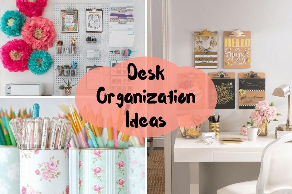 Desk Organization Ideas Part - 36: 10 Life Changing Desk Organization Ideas Thatu0027ll Make You Super Productive