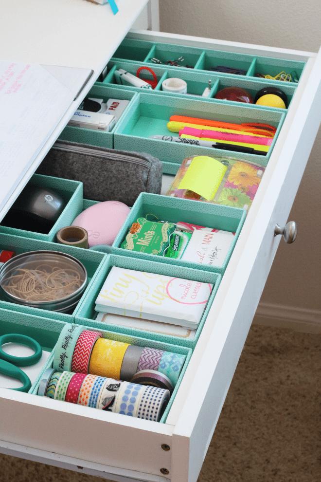 Organization Tray Desk Organization Ideas