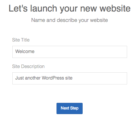 Wordpress Launch Site