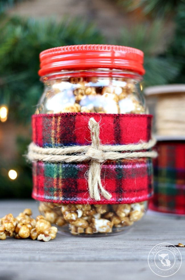 Caramel Corn in a Jar