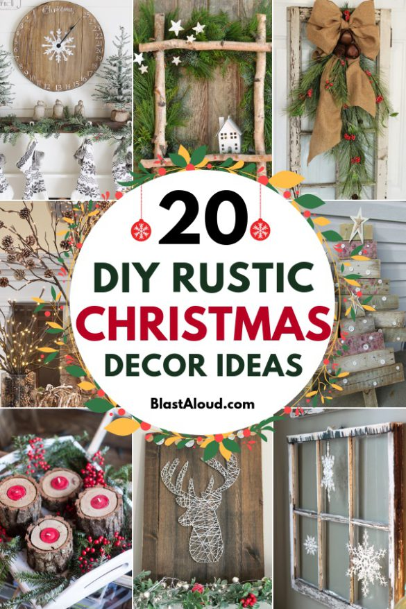 DIY Rustic Christmas Decor Ideas