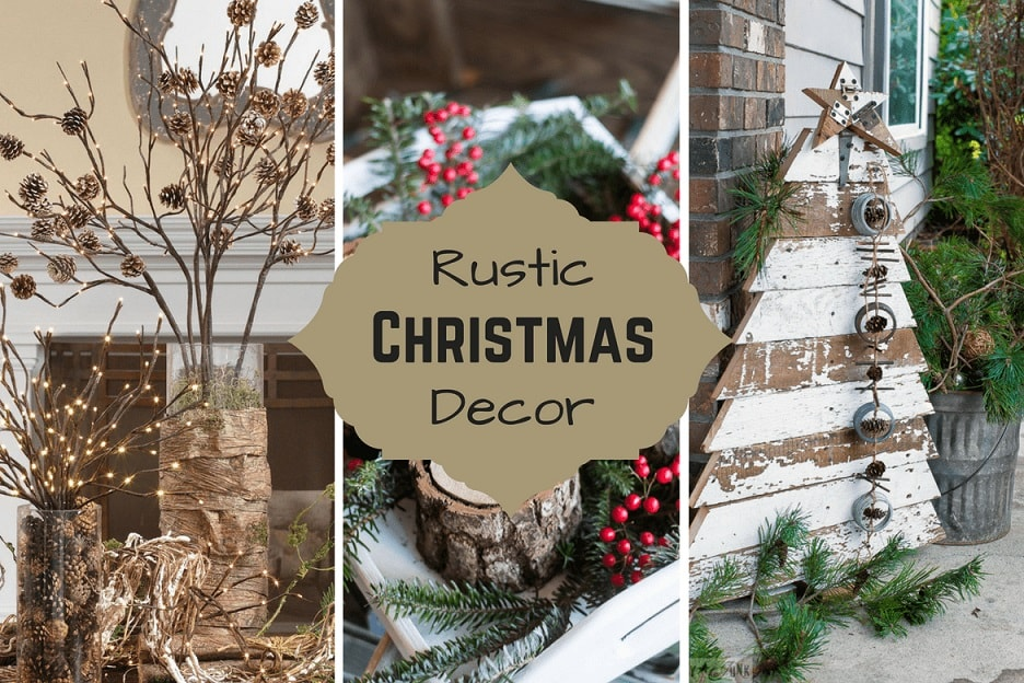 20 DIY Rustic Christmas Decor Ideas For That Cozy Christmas Charm