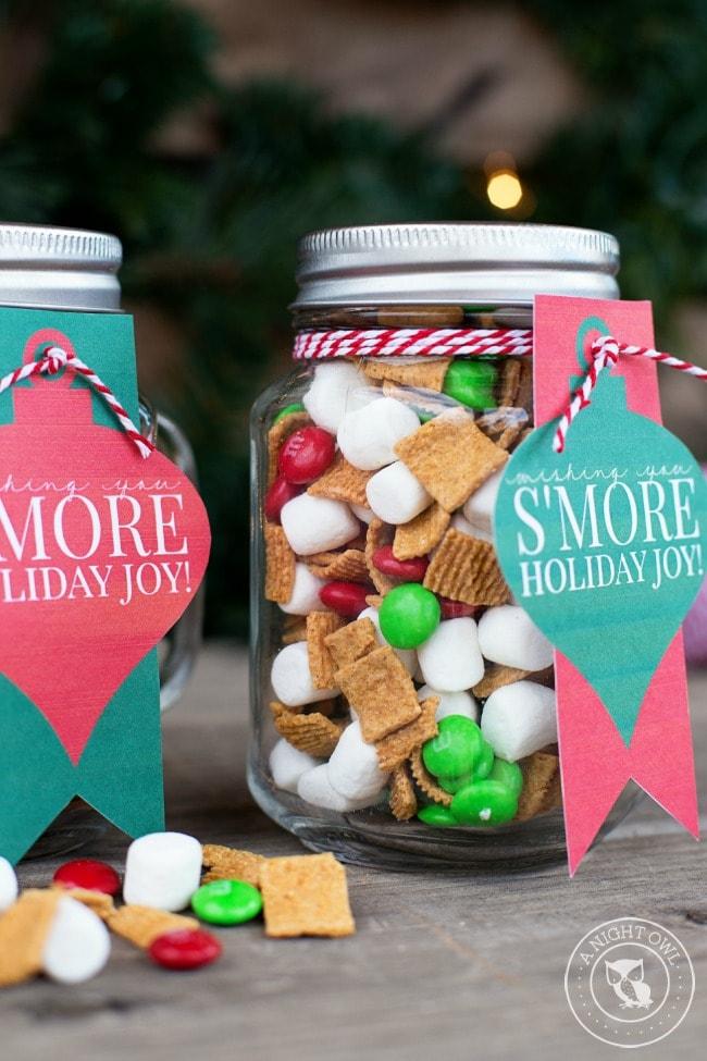 Smores Mason Jar Gift