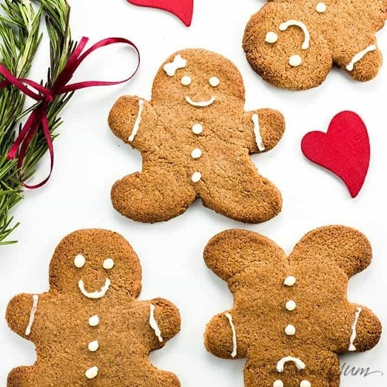 Sugar-free Gingerbread Cookies