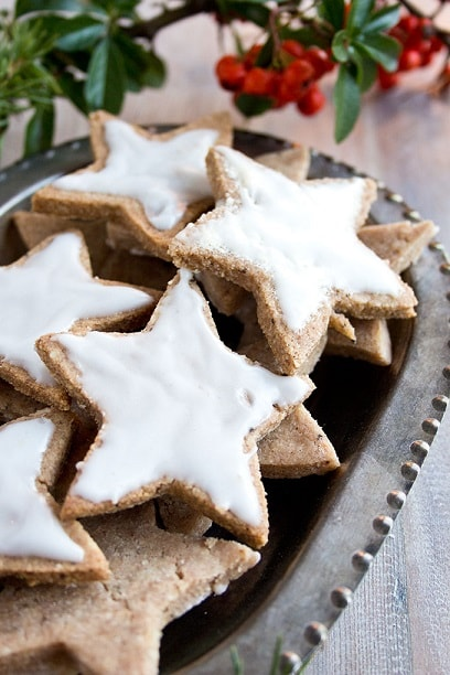 Traditional German Cinnamon Stars