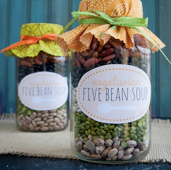 Vegetarian Bean Soup Mix
