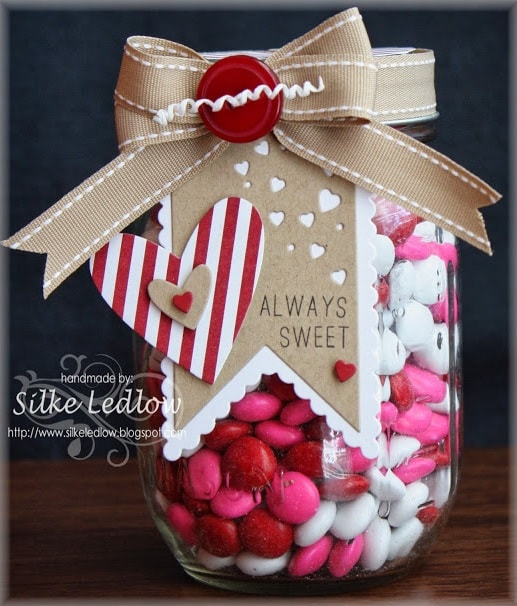 Always Sweet Mason Jar for Valentine's Day