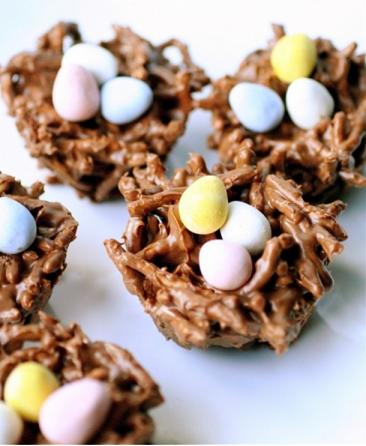 Easy Easter Desserts Recipes: Birds Nests