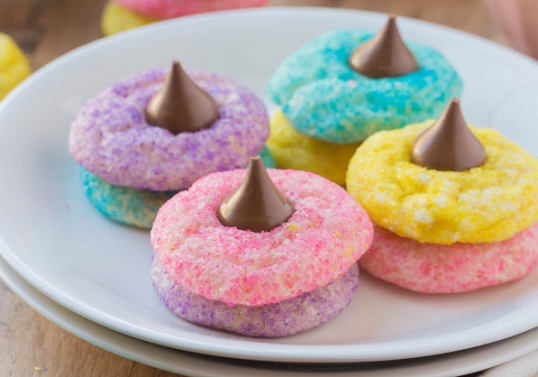 Easy Easter Desserts Recipes Blossom Sugar Cookies