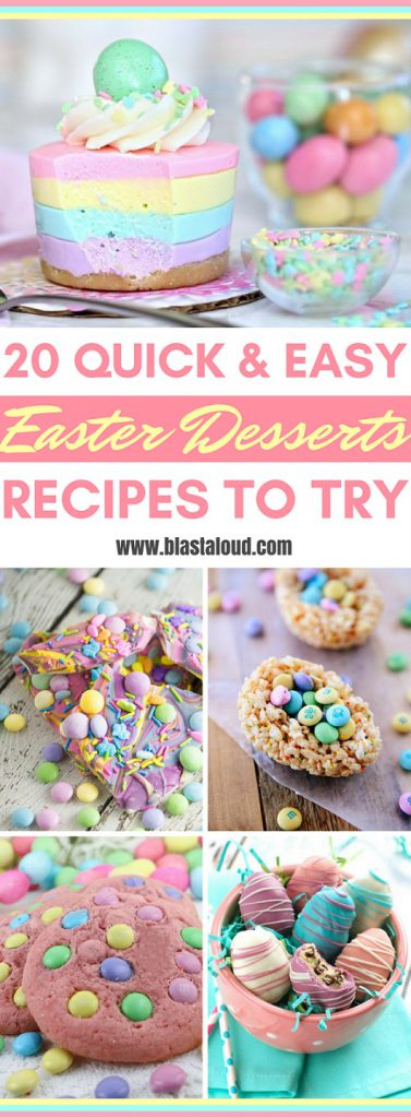 Easy Easter Desserts Recipes You Have To Try