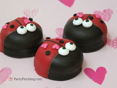 Love Bug Marshmallow Cookies