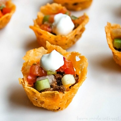 Low Carb Keto Snacks On The Go: Low Carb Taco Bites