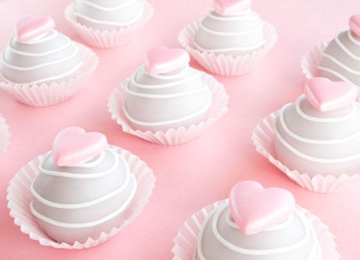 Valentine Cake Bites