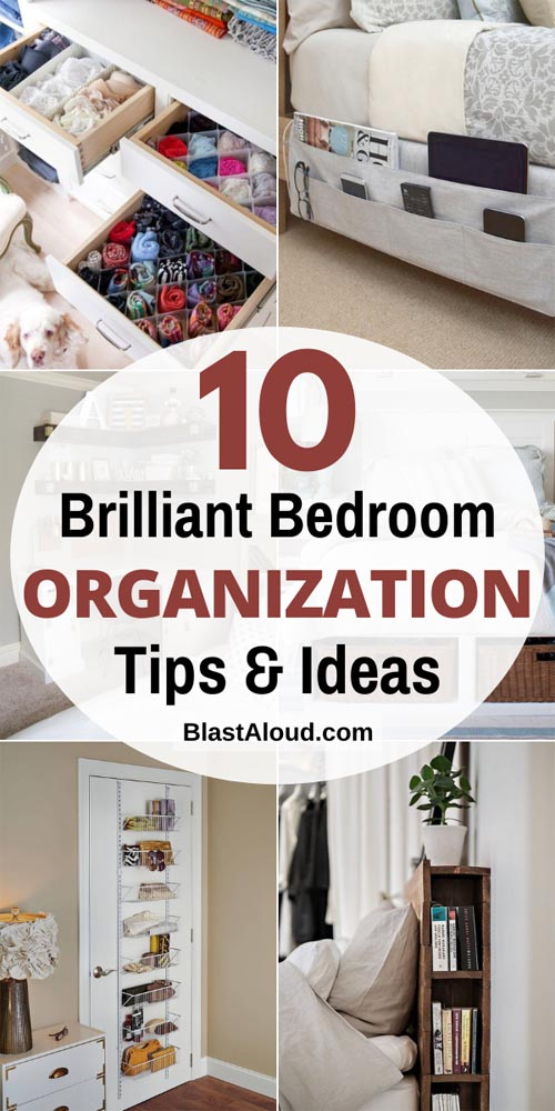 Bedroom organization ideas