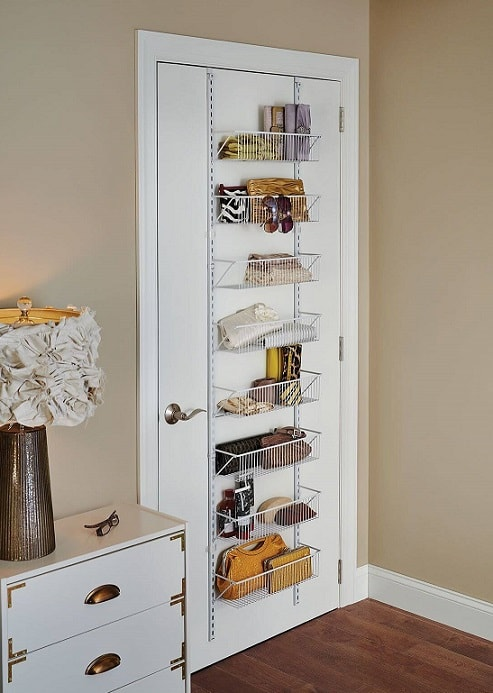 Bedroom organization ideas: Door Hanging Organizer