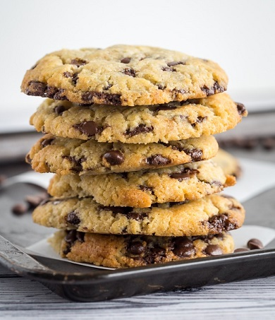 Low Carb Keto Desserts: Keto Chocolate Chip Cookies