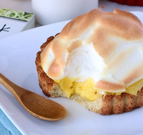 Low Carb Keto Desserts: Keto Lemon Meringue Tartlets