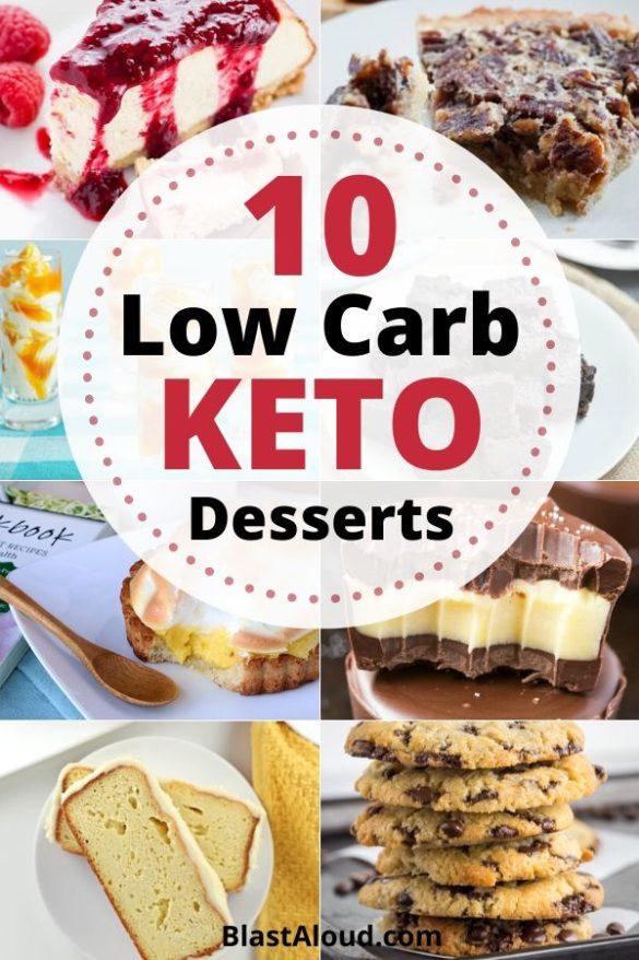 Low Carb Keto Desserts