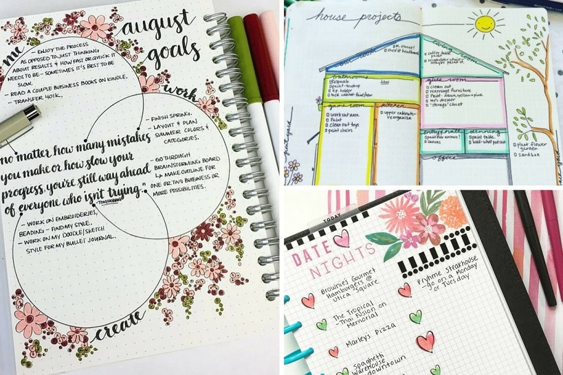 30 Bullet Journal Ideas That Will Keep Your Life Organized All Year