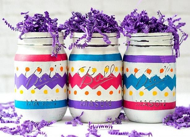 Easter Mason Jar Ideas: Easter Mason Jar Decor