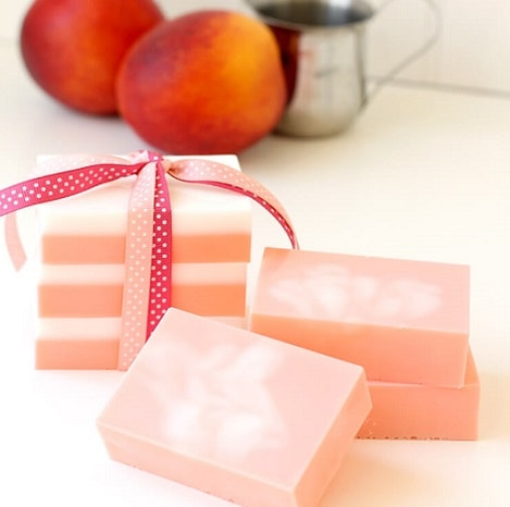 Homemade Soap Recipes: Peaches and Cream Soap
