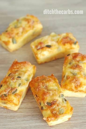 Keto Bread Recipes: Coconut Flour Mini Cheese Loaves