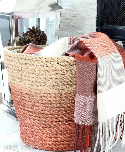 DIY Gifts: DIY Rope Basket