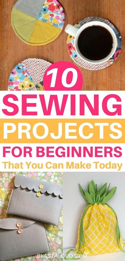 10 Easy Beginner Sewing Projects That You Can Make And Sell Today