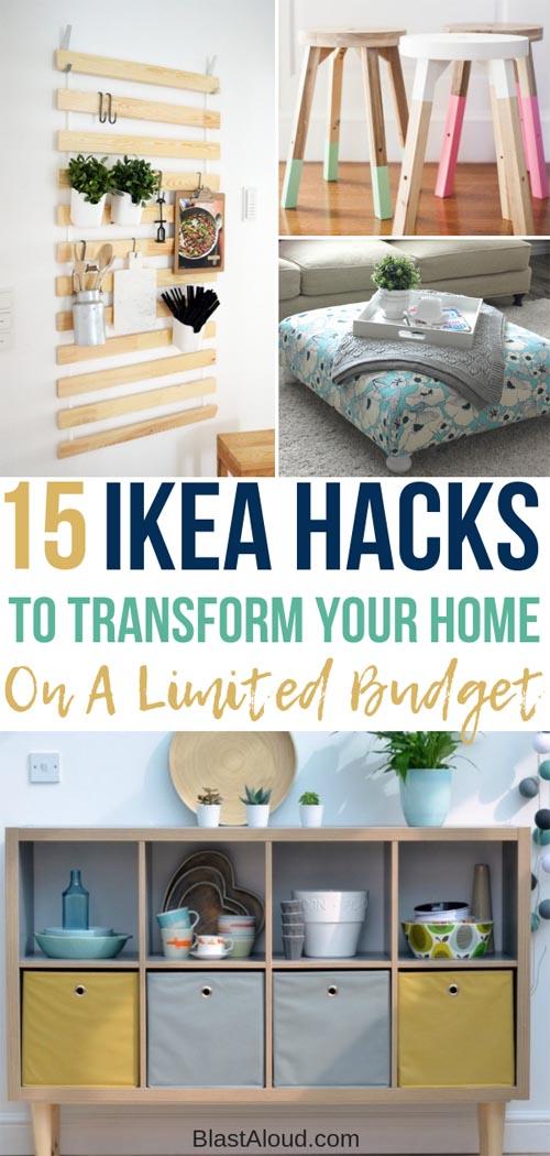 Easy DIY IKEA Hacks