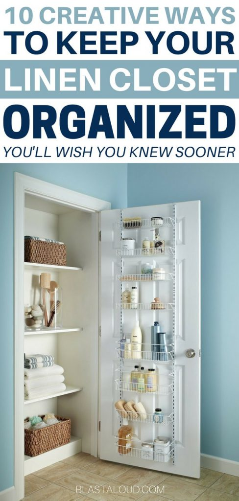 DIY Linen Closet Organization Ideas