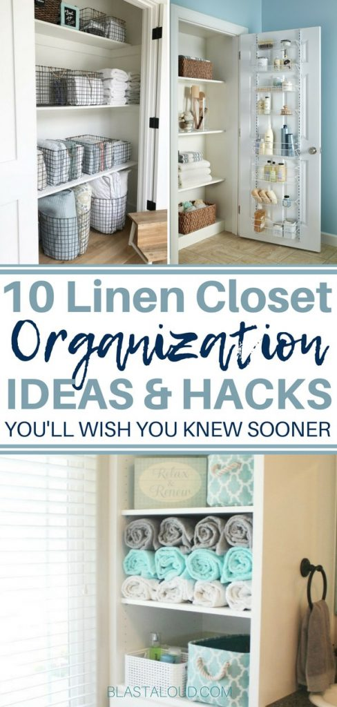 DIY Linen Closet Organization Ideas