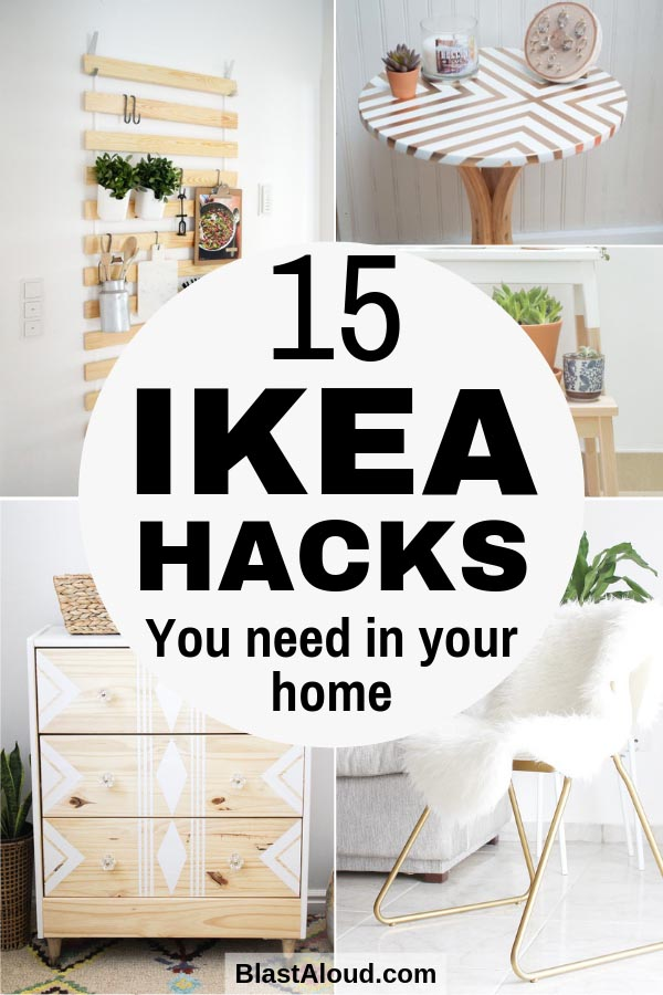 Easy DIY IKEA Hacks