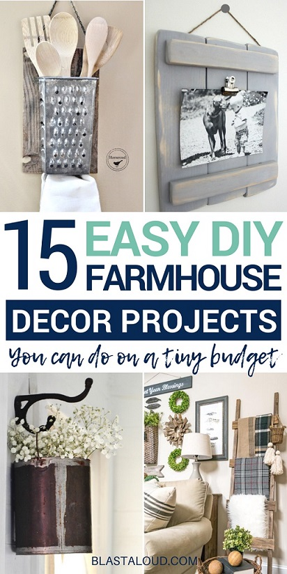DIY Farmhouse Decor Ideas You Will Love