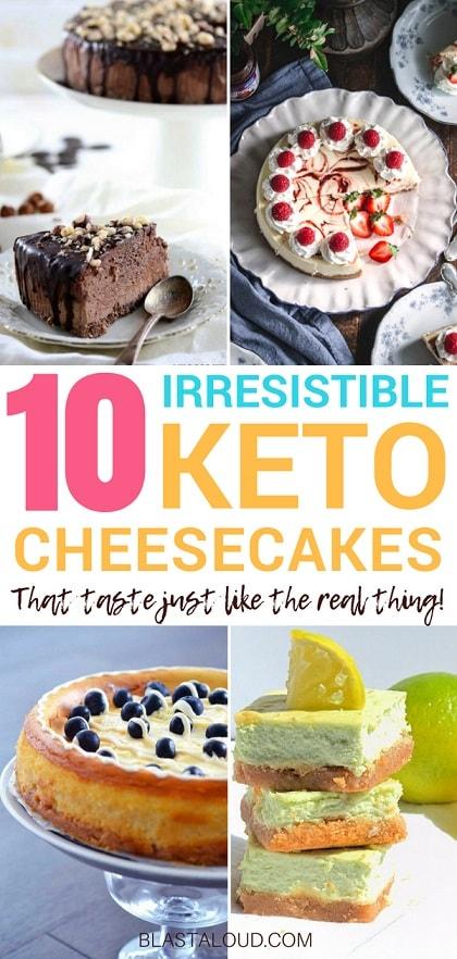 Yummy Keto Cheesecake Recipes for Ketosis