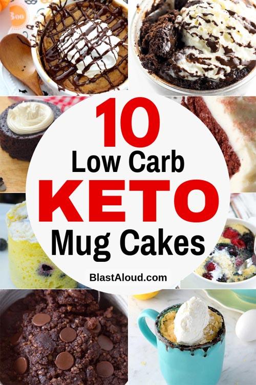 Low Carb Keto Mug Cake