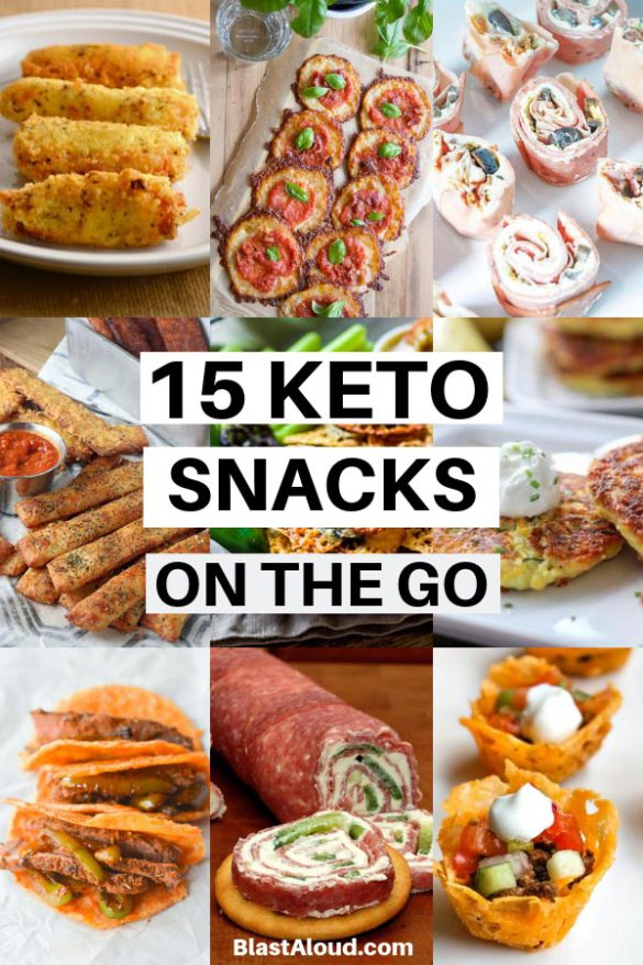 Easy low carb Keto Snacks On The Go