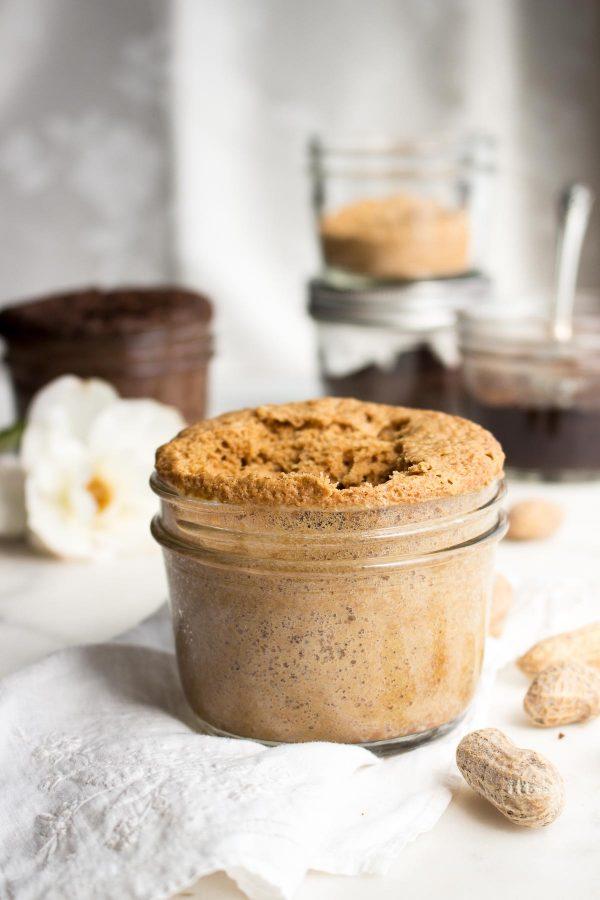 Keto mug cake: Peanut Butter Mug Cake