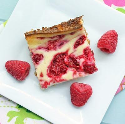 Keto Cheesecake Recipes: Raspberry Cheesecake Bars