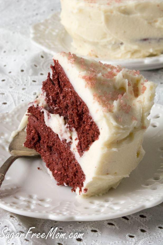 Keto mug cake: Red velvet mug cake