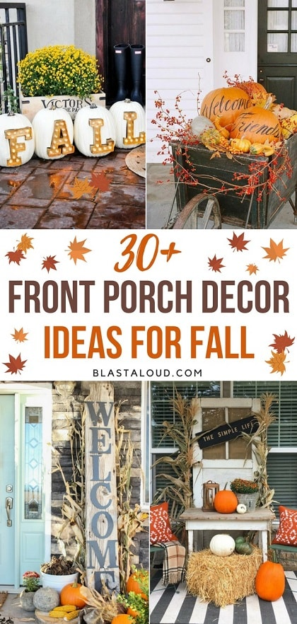 DIY Fall Porch Decorating Ideas