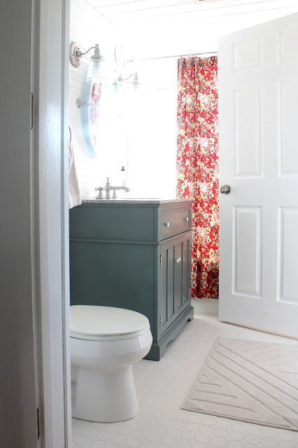 Bathroom remodel ideas: Downstairs Bathroom Remodel after