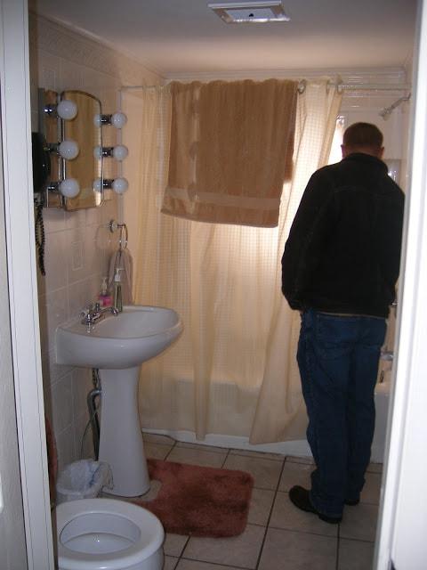 Bathroom remodel ideas: Downstairs Bathroom Remodel before