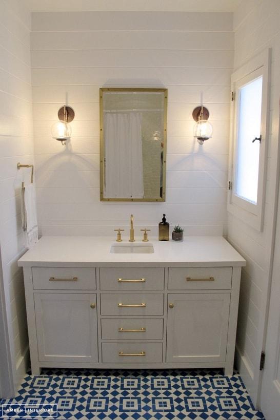 Bathroom remodel ideas: Guest Bathroom Remodel after