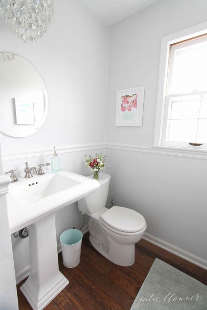 Bathroom remodel ideas: Half Bath Remodel after
