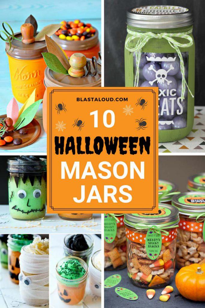 Halloween mason jar gift ideas
