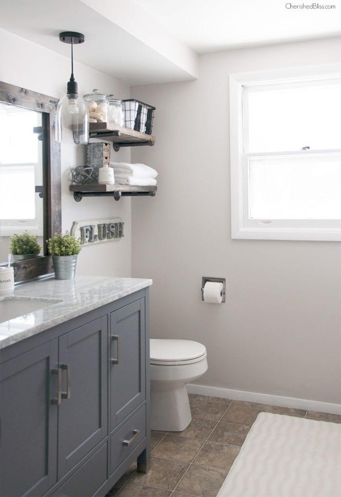 Bathroom remodel ideas: Industrial Farmhouse Bathroom 2